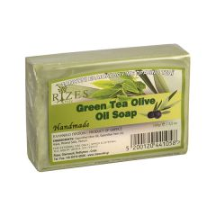Natural olive oil soap with green tea