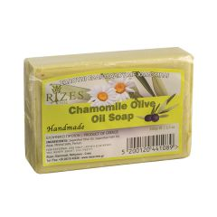 Natural olive oil soap with chamomile