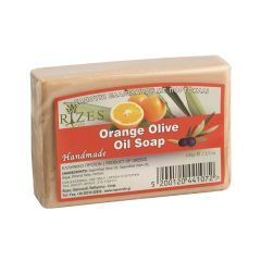 Natural oil soap with orange
