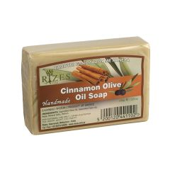 Natural oil soap with cinnamon