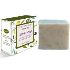 Extra fine soap olive oil with lavender
