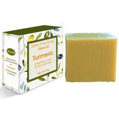 Extra fine soap olive oil with turmeric