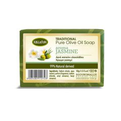 Traditional pure olive oil soap | Jasmine