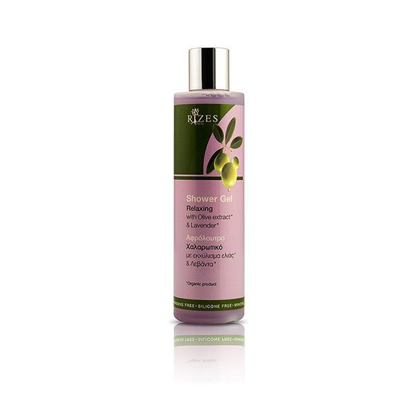 Relaxing shower gel with biologic olive oil and lavender that will offer you great moments of total relaxation