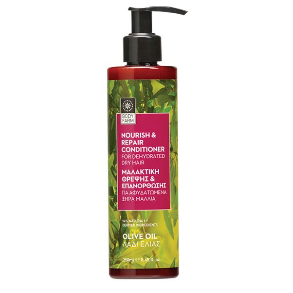 Olive oil conditioner for dry hair with organic Olive Oil, Aloe Vera and Jojoba   250ml